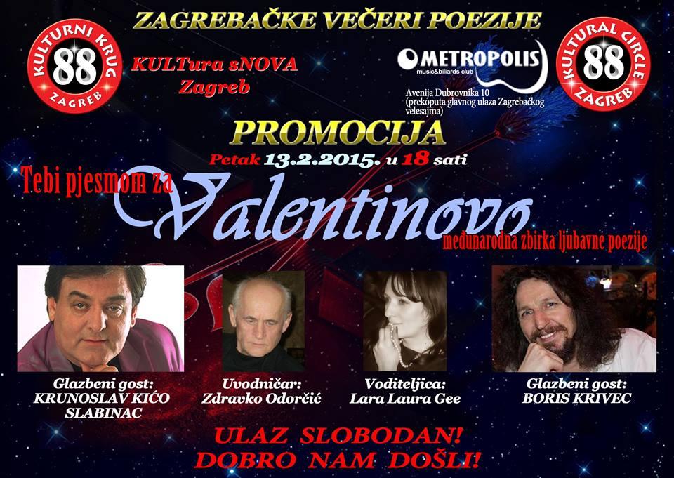 VALENTINOVO 2015 - PLAKAT